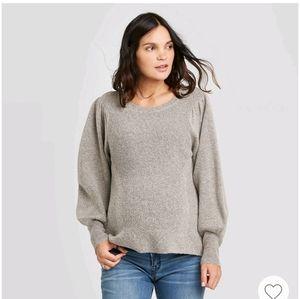 💗HOST PICK💗 Mat. Long Sleeve Textured Pullover